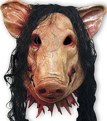 Bear boys Halloween Festival Party Show Celebration Prop Bar Decoration Cos Cosplay Animal Pig Chainsaw Maniac Ghost Horror Head Mask Masquerade Headgear (a)