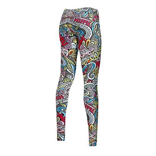 NIGHTMARE Pantalones de Yoga para Mujer Legging para Correr para Mujer, Pantalones para Correr para Bajar de Peso Pantalones de Yoga de Cintura Alta Entrenamiento para Correr M