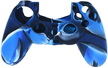 Soft Camouflage Silicone Case Cimaybeauty Cover Protective for Playstation PS4 Controller