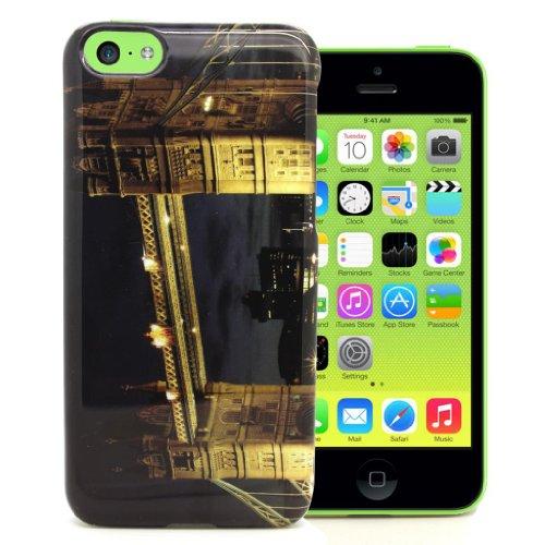 Accessory Master Cover per iPhone 5C Motivo London Bridge