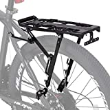 10. Hiland Bike Rear Cargo Rack Aluminum Luggage Pannier Carrier Adjustable for 20-29 inch Mountain Road Hybrid Commuter City Disc-Brake Electric Bikes