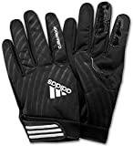 adidas Signal Caller Climaproof Football Gloves - Black/White - Adult 4XL