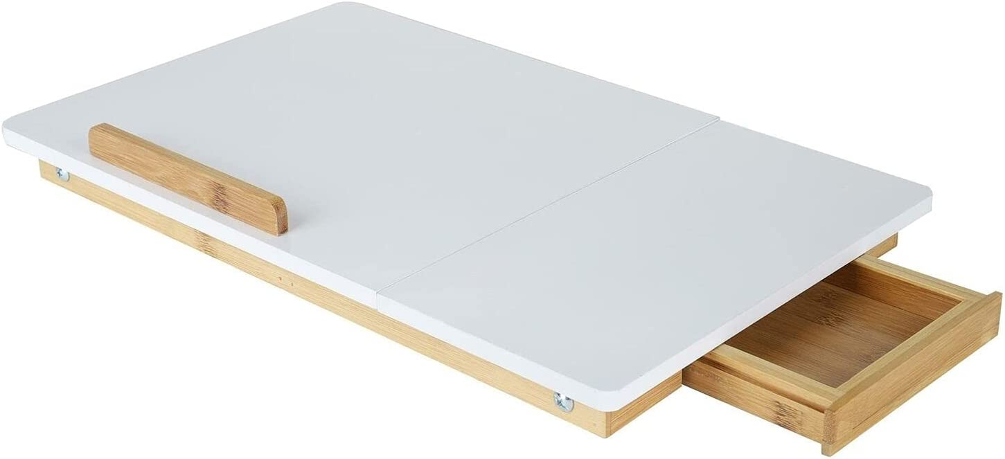 DXXWANG Adjustable Award Bamboo Lap Desk Breakfast Tray for and Mo Outlet ☆ Free Shipping Bed