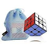 OJIN Yongjun YJ MGC3 Elite M 3x3 Cube YJ MGC3 3 Capas 3x3x3 Cube Smooth Puzzle Yongjun MGC M con un trípode de Cubo y una Bolsa de Cubo (Negro)