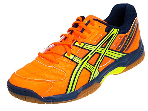 Asics Gel Squad–Zapatillas de balonmano para Neon Naranja/lime/, hombre, naranja