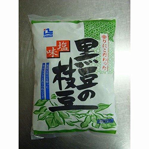 ノースイ 塩味黒豆の枝豆 500g【冷凍】