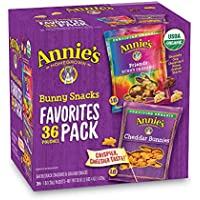 36-Count Annie's Homegrown Bunny Snacks Variety Pack