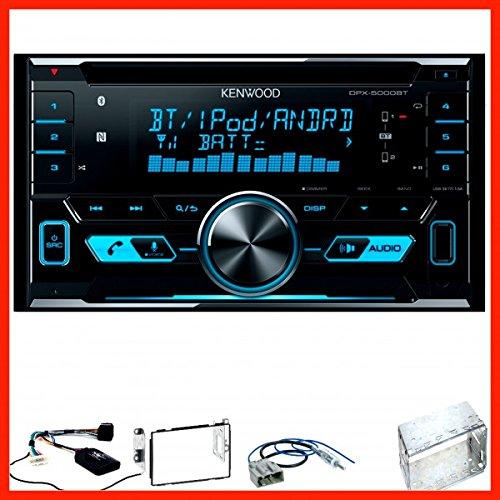 Kenwood DPX-5000BT USB Bluetooth MP3 NFC CD Einbauset für Nissan Qashqai J10