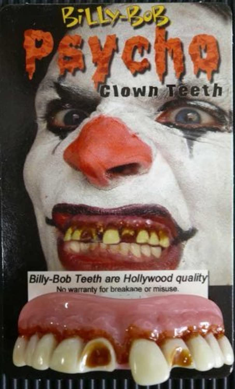 Billy Bob Fake Halloween Teeth - Psycho Clown by Billy Bob