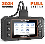 FOXWELL NT624 Elite OBD2 Scanner All Systems Car Diagnostic Scanner for All Cars with Oil Light Reset and EPB Reset Service, Check Engine Code Reader for ABS SRS Transmission EPS HVAC