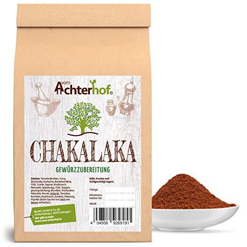 Chakalaka Gewürz 250 g afrikanische Gewürzmischung scharf ideal zum Dip BBQ Grillgewürz