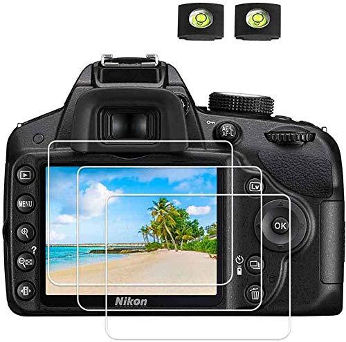 D3400 D3500 Protector pantalla de cristal para cámara Nikon D3500 D3400 D3300...