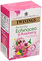 Twinings Echinacea & Raspberry Tea 20 Bag (order 4 for trade outer) / トワイニングエキナセアWWWWラズベリーティー20袋(商品アウターため4 )