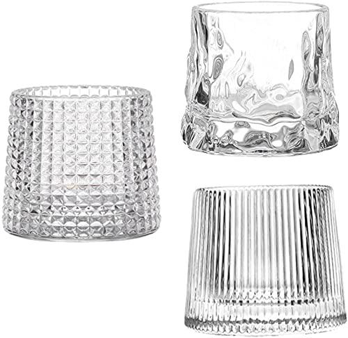 GDEVNSL Bienvenido a Personalizar Vasos de chupito de Vidrio Taza de café Mini Tazas Bebidas Copas de Vino de Cristal para Hornear Azúcar Harina Café Au