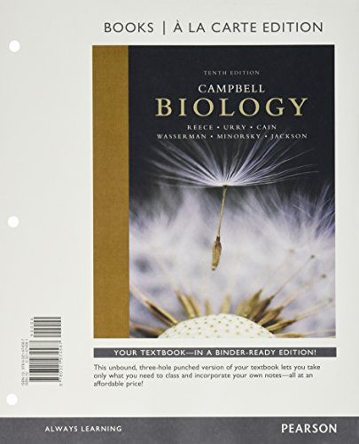 Download A Campbell Biology, Books a la Carte Edition;  Mastering Biology with Pearson eText -- ValuePack Access Card -- for Campbell Biology; Short Guide to Writing About Biology (10th Edition) 013446835X