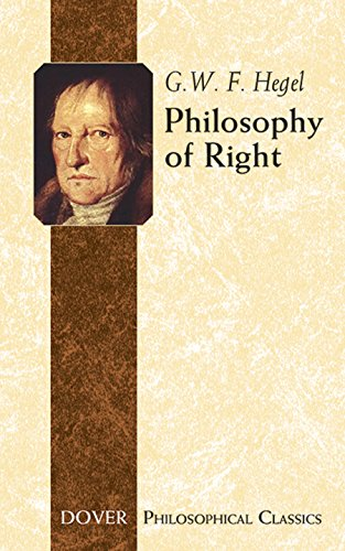 Philosophy of Right (Dover Philosophical Classics)