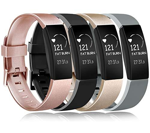 Amzpas Compatible para Fitbit Inspire Correa & Inspire HR Correa, Soft Deportes Pulseras Reemplazo Band Compatible para Fitbit Inspire & Fitbit Inspire HR