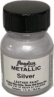 Angelus Piel Pintura acrílica-1 oz-Plata
