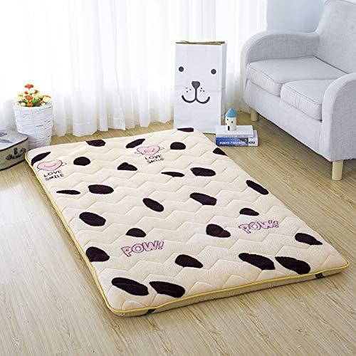 Brownber Factory Direct Supply Tatami Colchón para estudiantes de estudiantes, colchón grueso para una litera, así como almohada colchón plegable y resistente, E, o