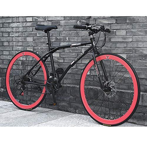 2020 Nueva bicicleta de montaña de 26 pulgadas de acero de 24 velocidades del marco doble freno de disco de acero de alto carbono de bicicletas de suspensión completa Bicicletas MTB for los hombres /