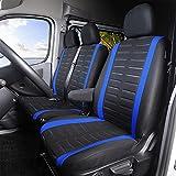 TOYOUN Fundas de asiento para furgoneta con estampado de rayas 3D, ajuste universal para la mayoría de furgonetas, camiones