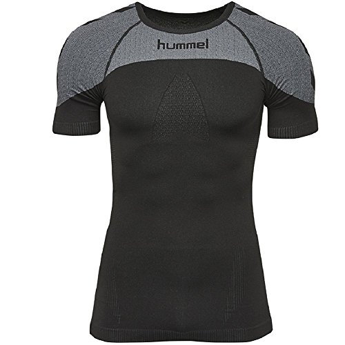 hummel Herren First Comfort SS Jersey T-Shirt, Black, M/L