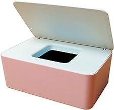 YTXTT Caixa de lenços, suporte dispensador de lenços umedecidos com tampa, caixa de armazenamento de lenços, caixa de arma...
