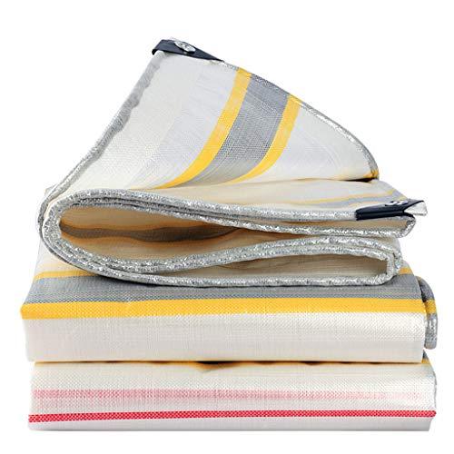 LIYG Verdickungsstreifen für den Außenbereich regenfestes Tuch Auto Regenmantel Jacke Auto universelle Schutztuch Hochleistungsplanen (Size : 3x3m)
