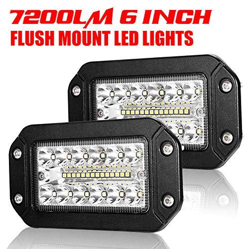 Justech Slim LED Light Bar Wasserdicht 18 W Cree LED Einreihig Light Bar Spot