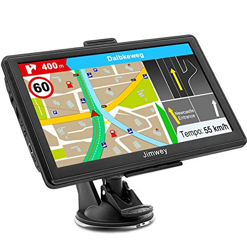 SAT NAV GPS Navigation System, Jimwey 7 Inch 16GB Latest 2019 Maps Car Truck Lorry Satellite...