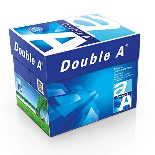 Double A Drucker-/ Kopierpapier Expressbox: 80 g/m², A4, 2500 Blatt (lose), weiß, 10330042324