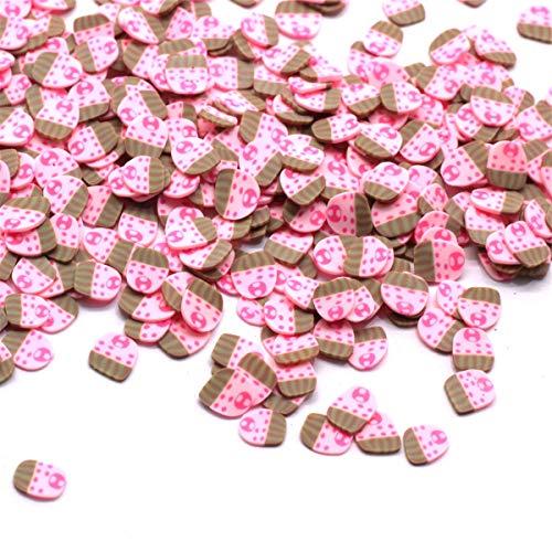 ZJL220 - Lote de 1500 piezas para decoración de frutas, accesorios de arcilla