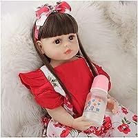 リサイクルシリカゲル、22in / 55cm再生人形シリコン-ソフトシリコン人形の現実-子供キッズギフトセット