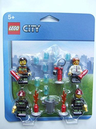 Lego 850618 City - Set di accessori per Vigili del Fuoco