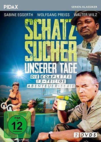 Schatzsucher unserer Tage / Die komplette 13-teilige Abenteuerserie (Pidax Serien-Klassiker) [2 DVDs]