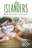 The Islanders, Vol. 4: Lucas Gets Hurt / Aisha Goes Wild 0062340824 Book Cover