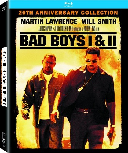 Bad Boys I & II (20th Anniversary Collection) Blu-ray