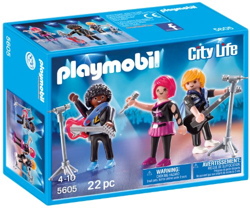 Playmobil 5605 City Life Pop Stars Band