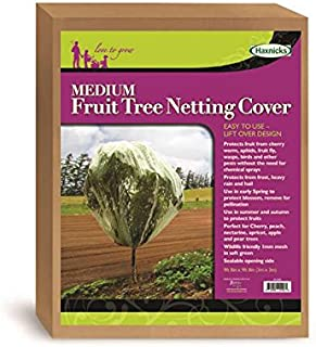 Tierra Garden 50-3540 Haxnicks 9.8' x 9.8' Fruit Tree Cover, Easy to Use, Cover and Protect Plants from Harsh Weather, Animals, and Pests