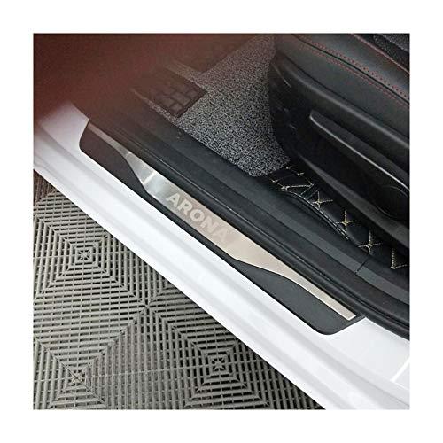 Battitacco in acciaio INOX per porta Stonic 4 pezzi LFOTPP