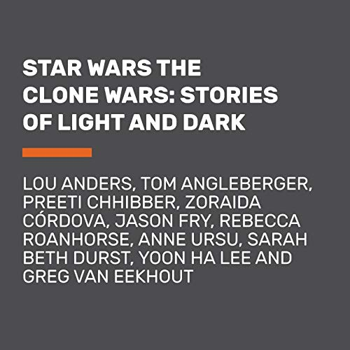 Page de couverture de Star Wars The Clone Wars: Stories of Light and Dark