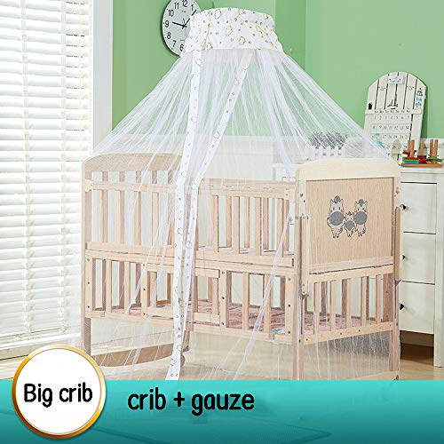 Purchase Dzhyy Crib Multi-Function Game Bed Newborn Bed Can Be Stitched Children's Bed,Package 2,Lar...