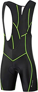 Sponsored Ad - Przewalski Mens 3D Padded Cycling Bike Bib Shorts, Excellent Performance and Better Fit