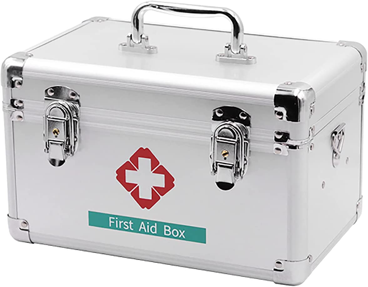 NYDD Portable Max 82% OFF Medicine Popular popular Chest with Storage Kit Emergency
