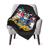 XCNGG Mantas para bebés edredones para bebésGundam Zeon Logo Baby Blanket Super Soft Printed Blanket Receiving Blanket for Boys Girls, Stroller, Crib, Newborns, Receiving
