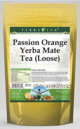 Passion Orange Yerba Mesa Mall Mate Tea Loose 8 555649 oz - Pa 2 Special price for a limited time ZIN: