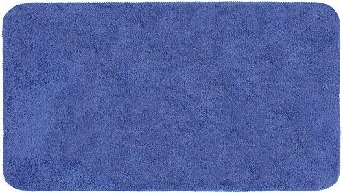 Gelco Design Smooth Tapis de Bain 50X100, Polyester Microfibre, Marine, 100 x 50 x_cm