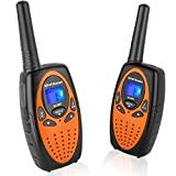 Wishouse Two Way Radios for Adults Travel, PMR446 Walkie Talkies with Vox Mic