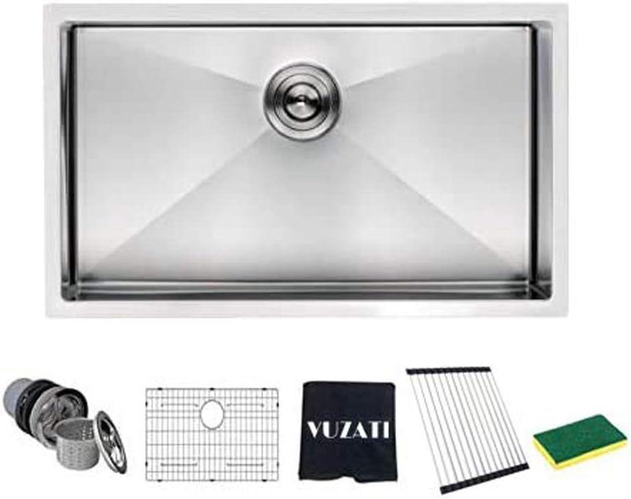 Vuzati Undermount Stainless Steel Kitchen Sink Max 41% OFF Deep - Some reservation 30