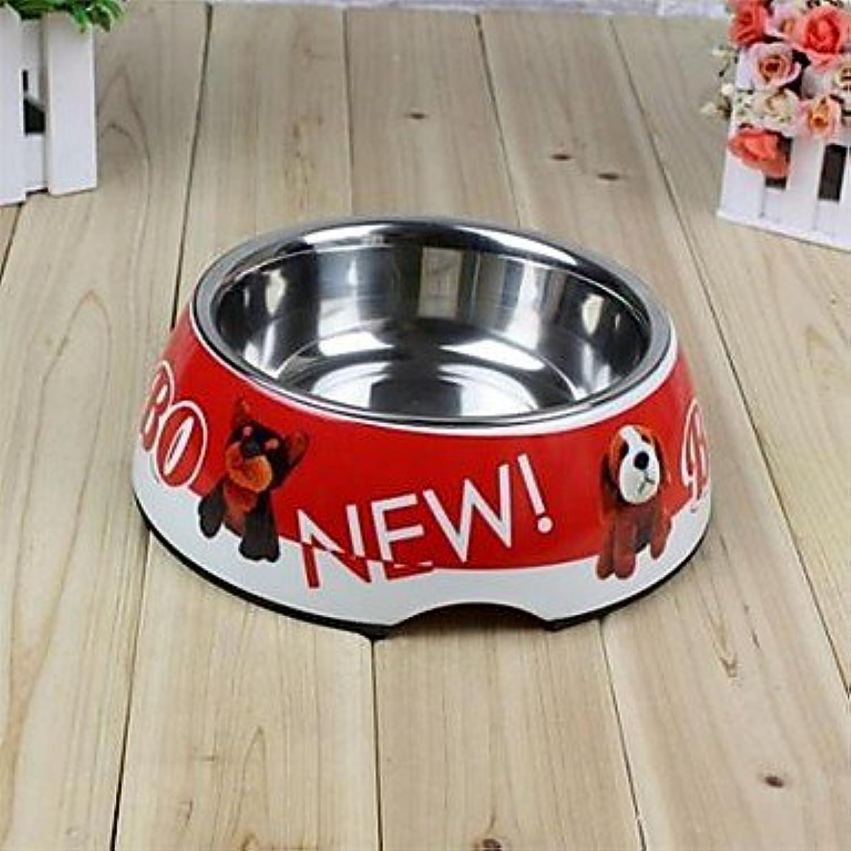 Quick shopping BOBO Melamine Dog Bowl 3057 Pet Supplies Bowl for Dogs Random colors